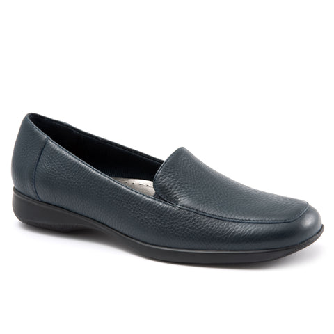 Jenn Navy Loafers