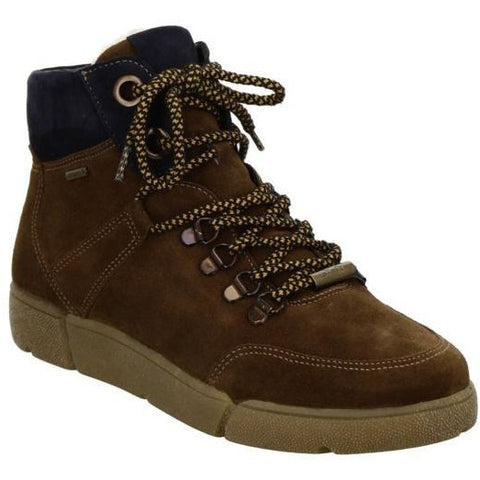 Vicky Brown Lace Up Boots