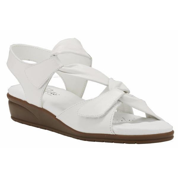 Valerie White Sandals
