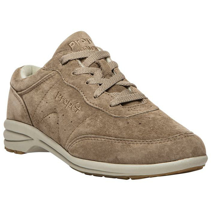 Washable Walker Taupe Suede