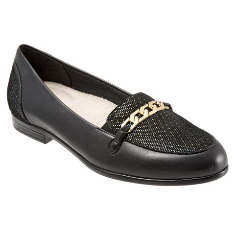 Anastasia Black Dots Loafers