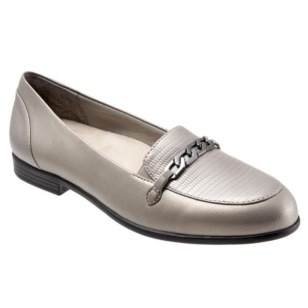 Anastasia Pewter Loafers
