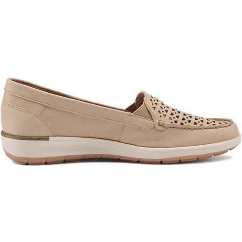 Oslo 2 Taupe Slip on Casual