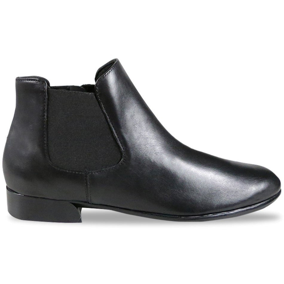 Cate Black Chelsea Ankle Boots