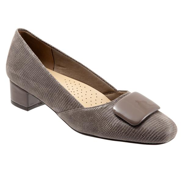 Delse Taupe Lizard Shoes