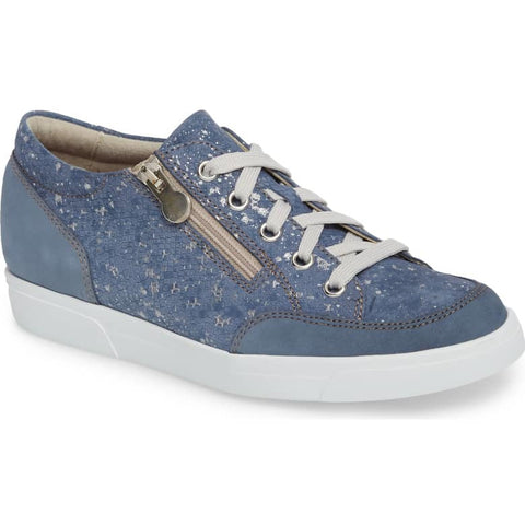 Gabbie Denim Metallic Print Sport Shoes