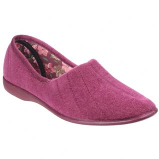 Audrey Heather Memory Slipper