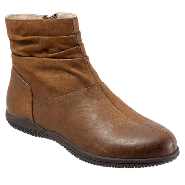 Hanover Luggage Weathered Leather Ankle Boots
