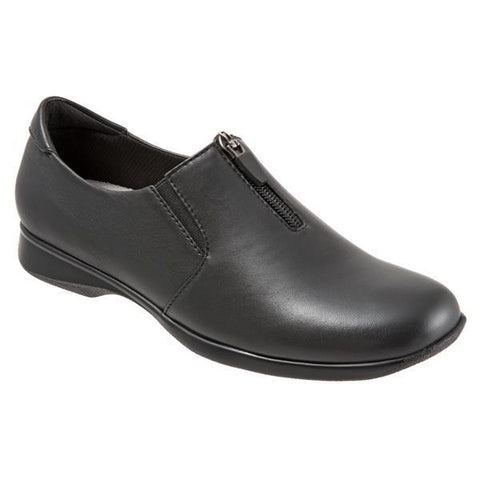 Jacey Black Leather Shoes