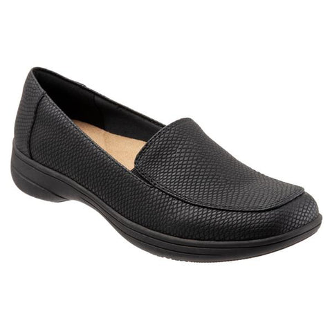 Jacob Black Snake Loafer