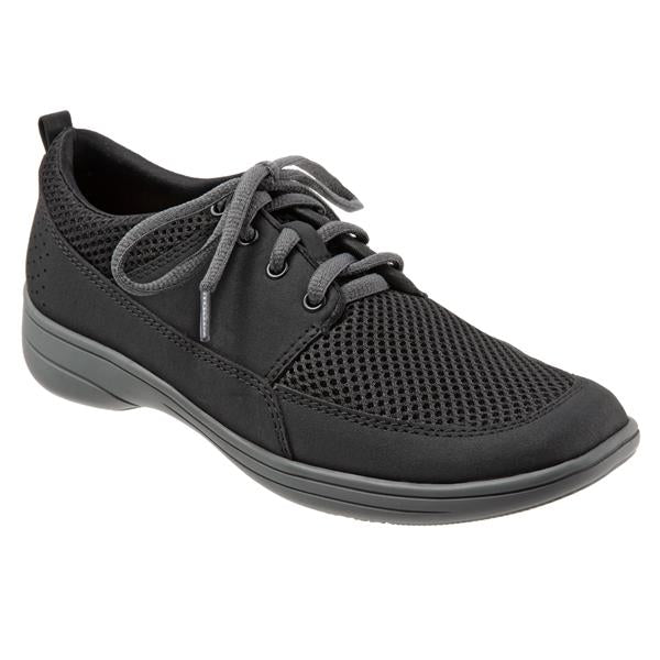 Jesse Black Mesh Oxford