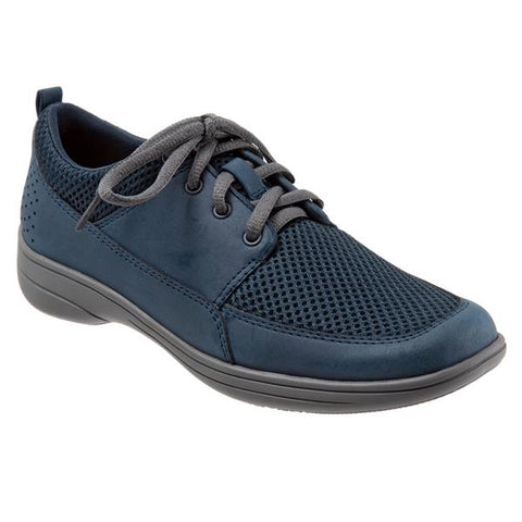 Jesse Navy Mesh Oxford