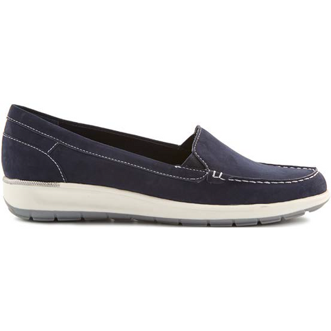 Oslo Navy Slip on Casual