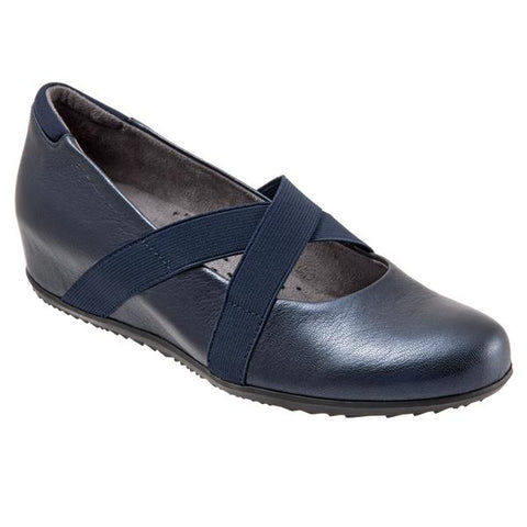 Waverly Navy Mary Janes