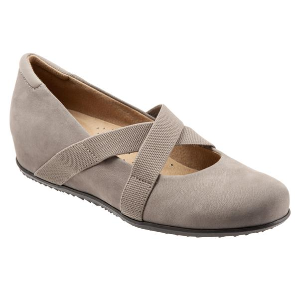 Waverly Taupe Mary Janes