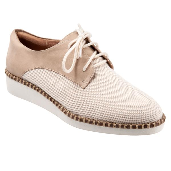 Willis Natural Linen Sand Nubuck Oxford
