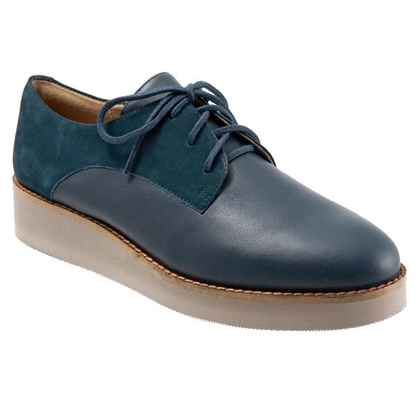 Willis 465 Dark Navy Nubuck Oxford