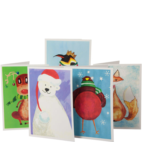 Pack of 10 National Star Christmas Cards (2017 design)