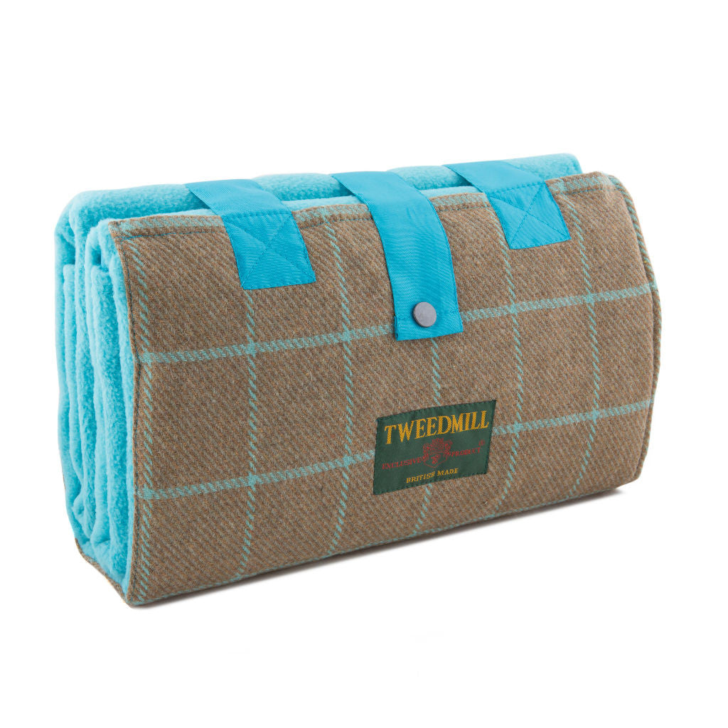 Turquoise Leisure Fleece Rug