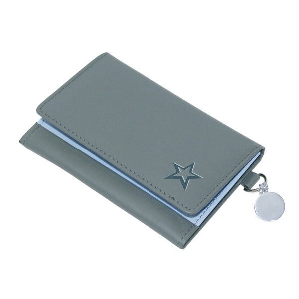 Star Leather Business Card Case