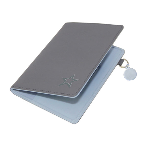Star Leather Passport Wallet