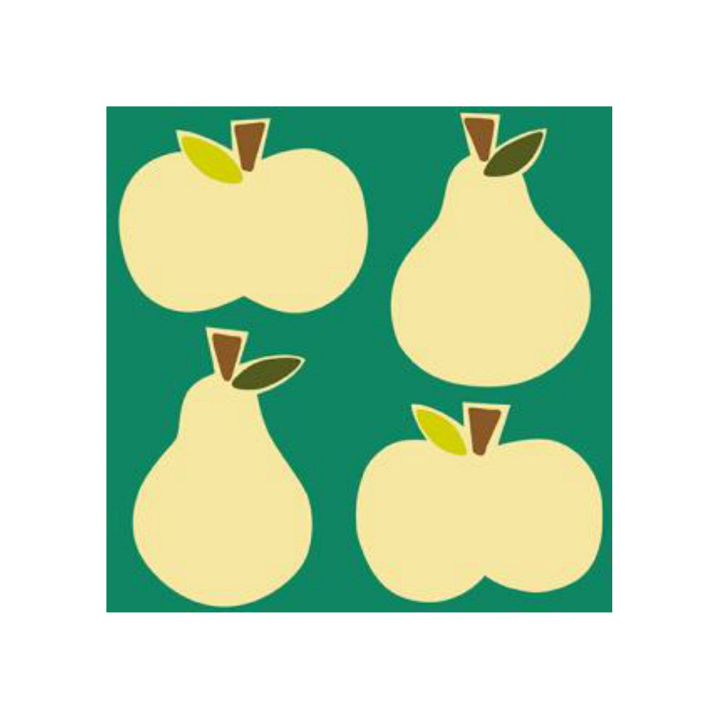 Apples and Pears Greetings Card
