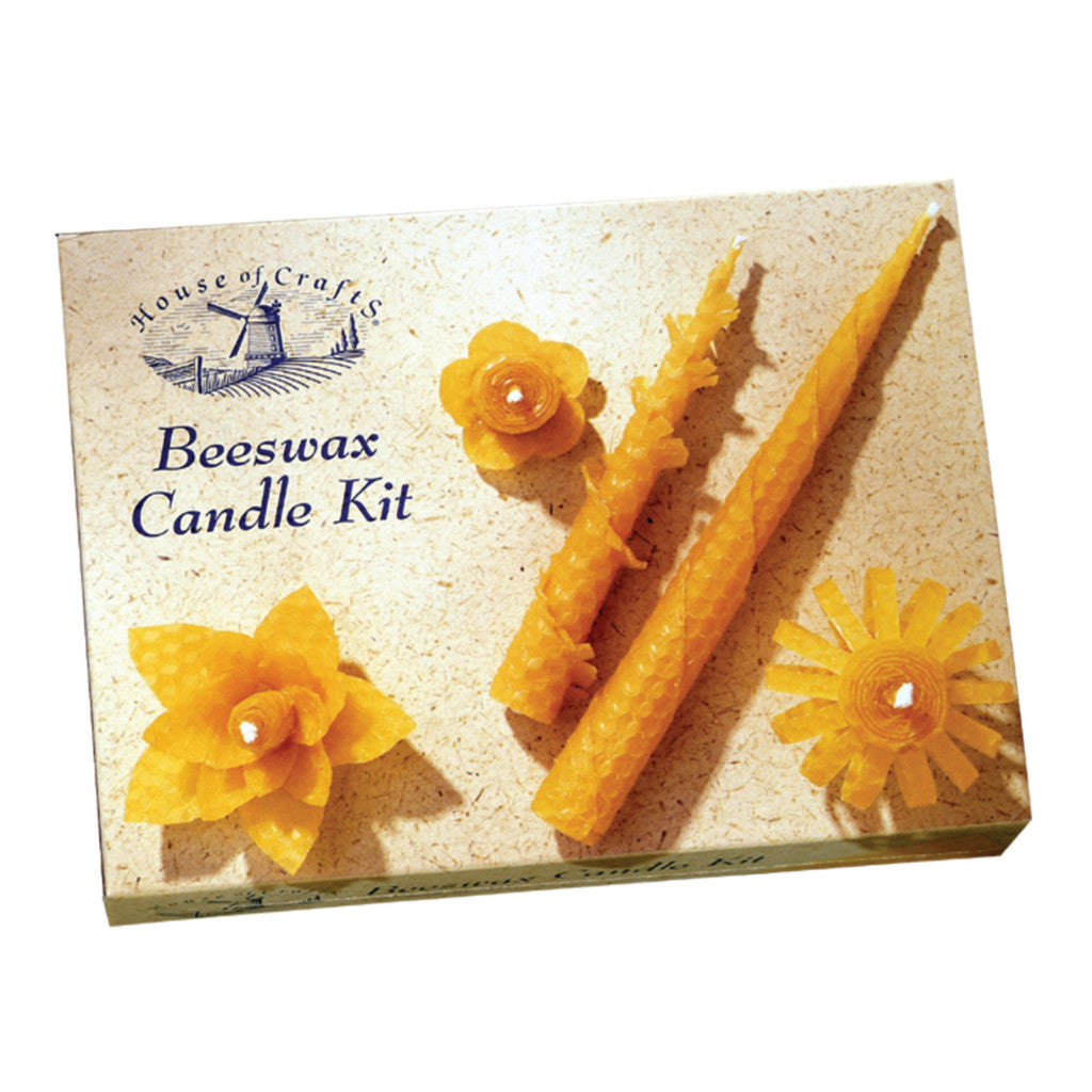 Beeswax Candle Kit