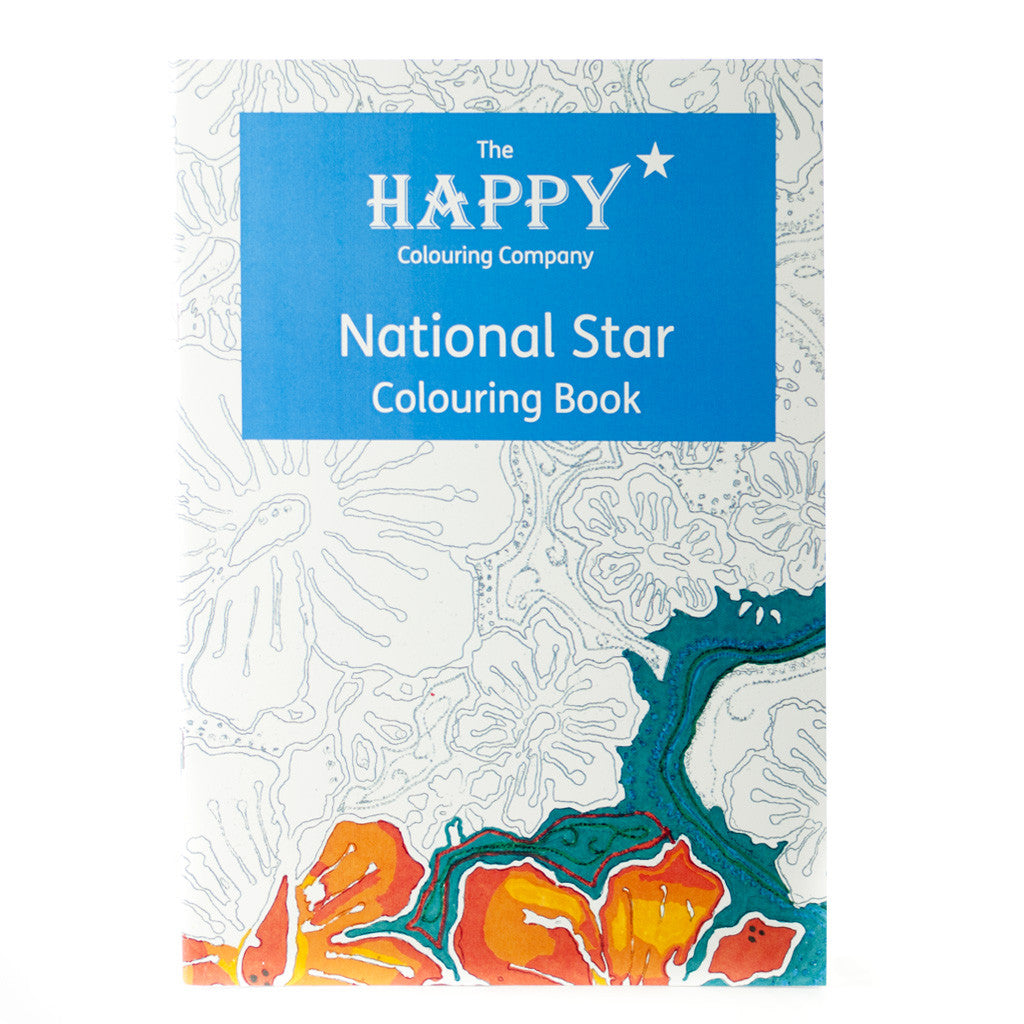 National Star Colouring Book