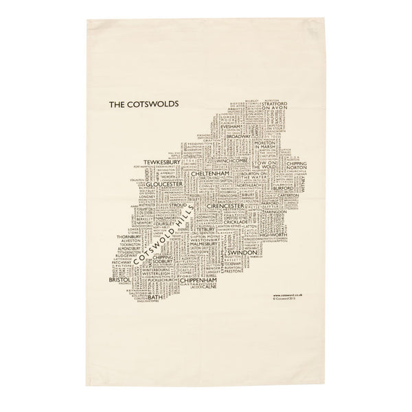 Cotsword Cotton Tea Towel