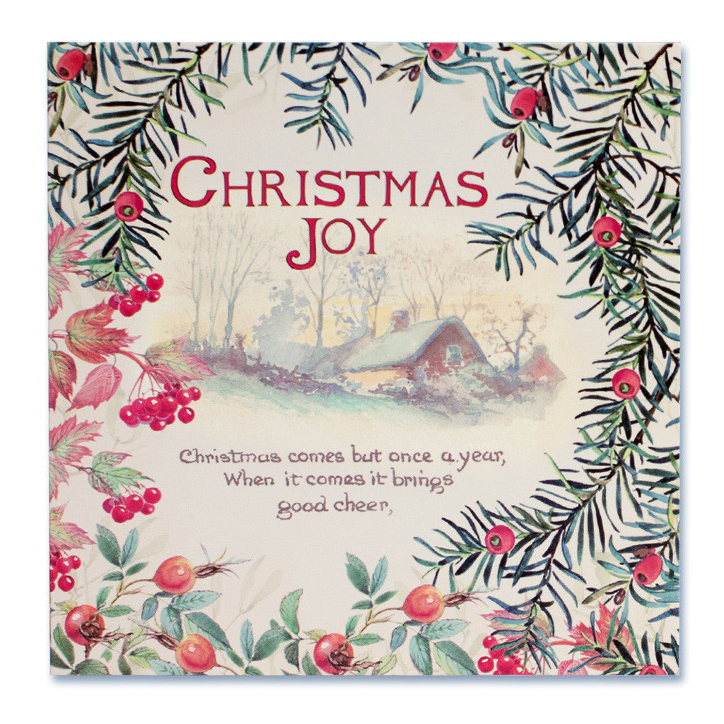 Country Diary Christmas Card