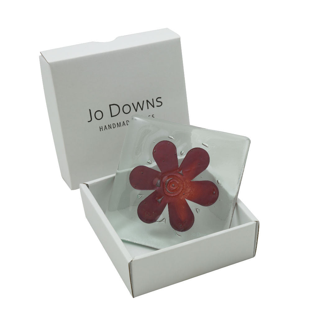 Flower Glass Coaster