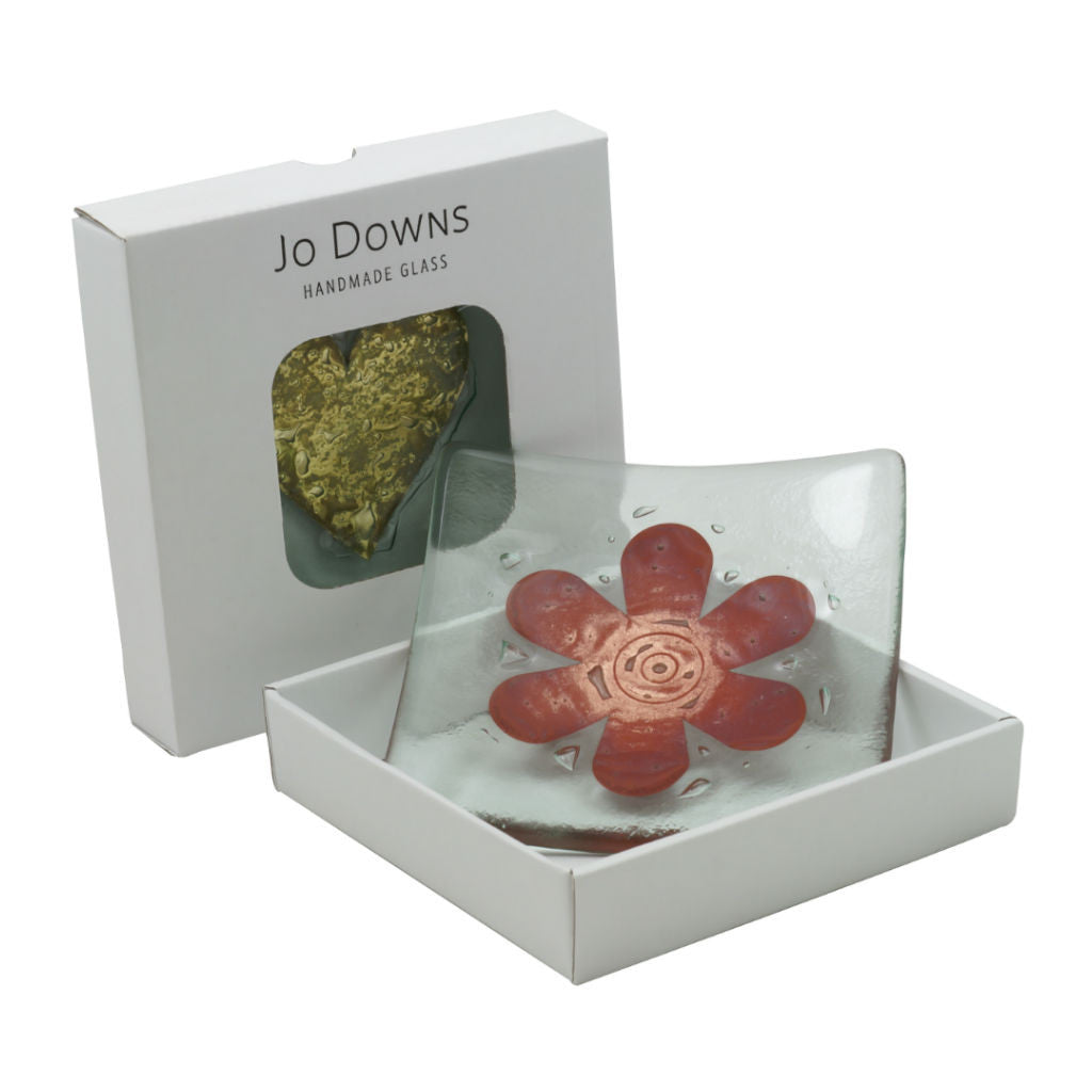 Flower Glass Flower Bowl 14cm