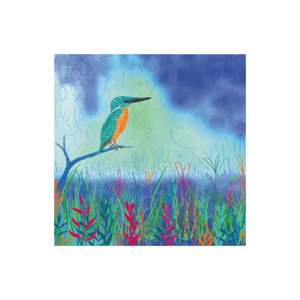 Kingfisher Greetings Card