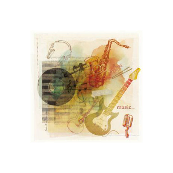 Music Greetings Card