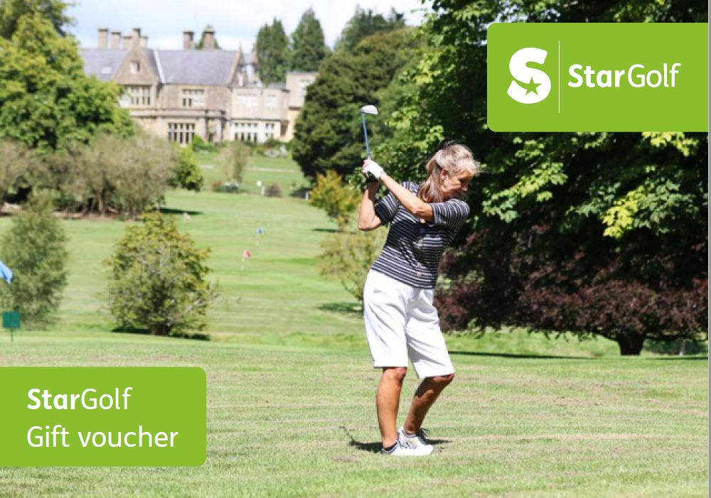 Star Golf Gift Voucher