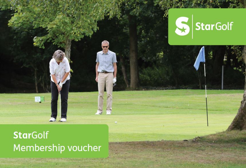 Gift Voucher for Star Golf Membership (to 31st August 2021)