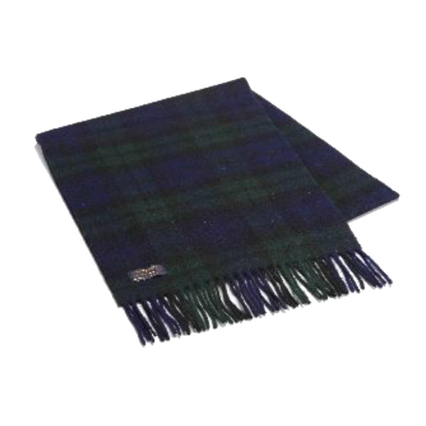 Wool Black-Watch Tartan Scarf