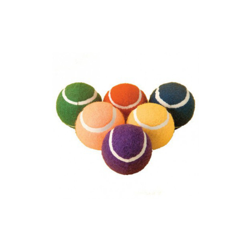 Colour Tennis Balls (set of 6)