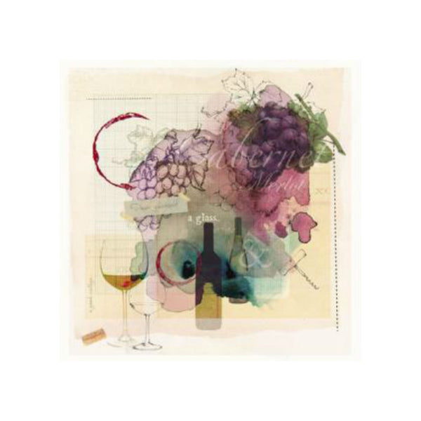 Wine Greetings Card