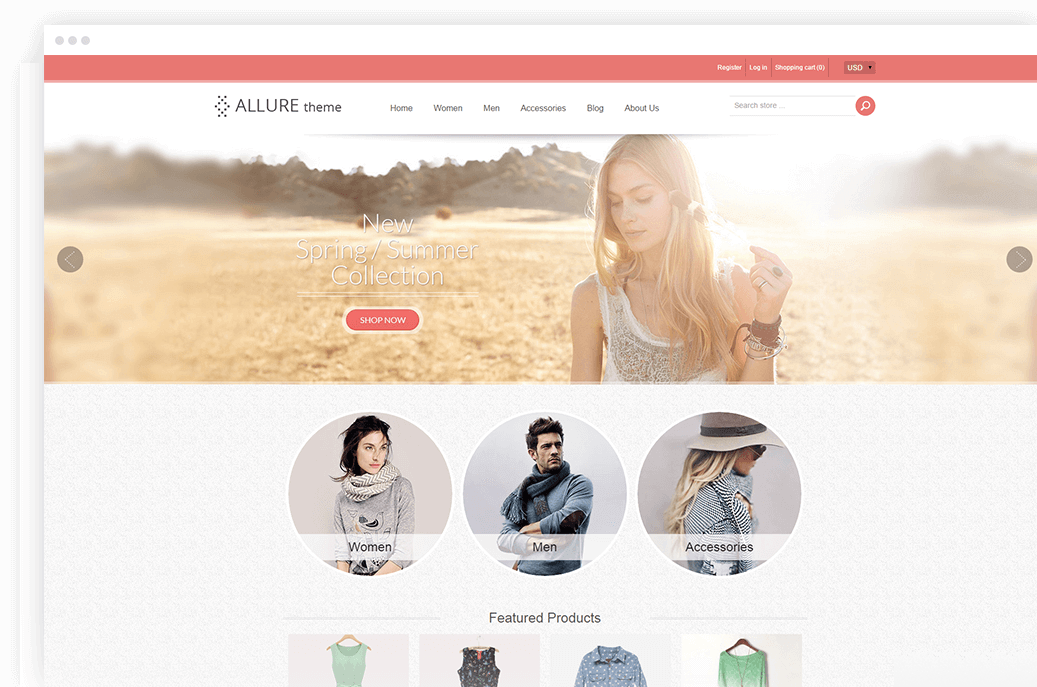 Shopify Allure theme