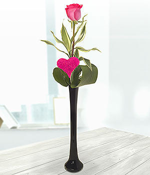 Single Stem Vase Arrangement
