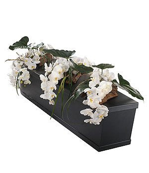 White Orchid Casket Bar Trio (Regular)