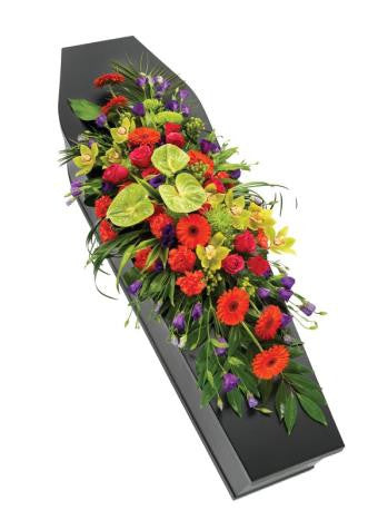 Vibrant Casket Spray (Regular)