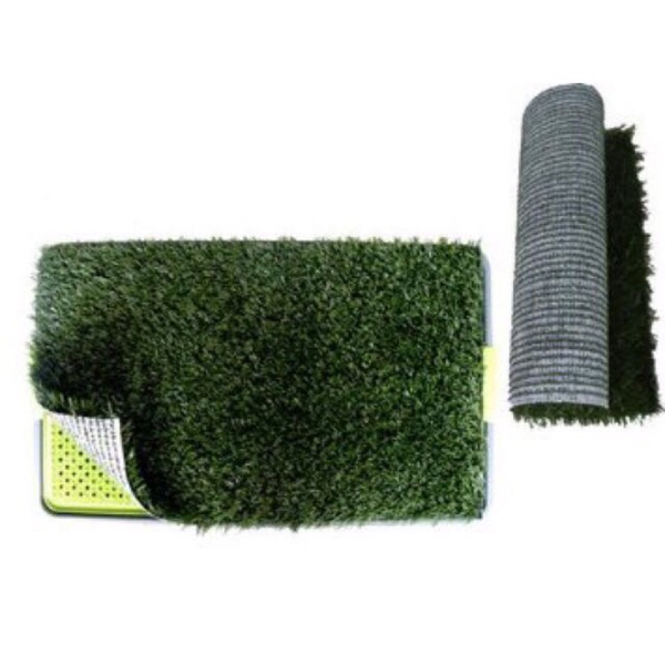 Synthetic Grass Mat 64cm X 38cm - Mr Fluffy Singapore Online Pet Store