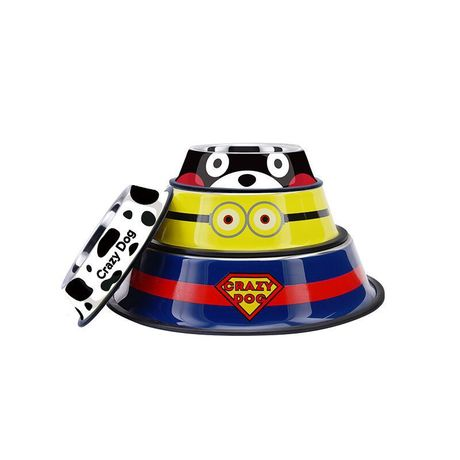 Minion Stainless Steel Pet Bowl - Mr Fluffy Singapore Online Pet Store
