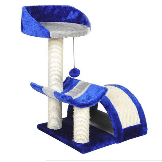 3-Tier Cat Climbing Tree / Playhouse - Mr Fluffy Singapore Online Pet Store