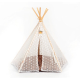 Pet Teepee Tent - Mr Fluffy