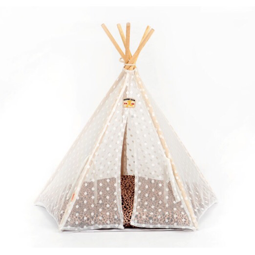 Pet Teepee Tent - Mr Fluffy Singapore Online Pet Store