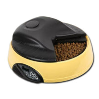 Automatic 4 Meal Food Dispenser - Mr Fluffy Singapore Online Pet Store