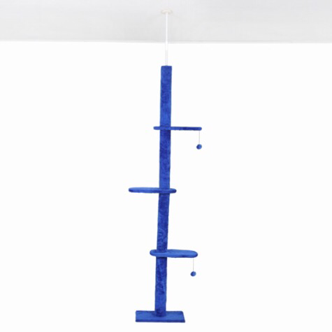 Ceiling High Cat Climbing Tree / Pole - Mr Fluffy Singapore Online Pet Store